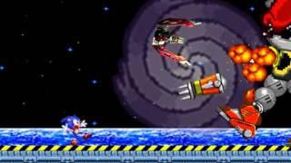Sonic 2 Secret Final Boss - Mecha Mighty (sprite animation)