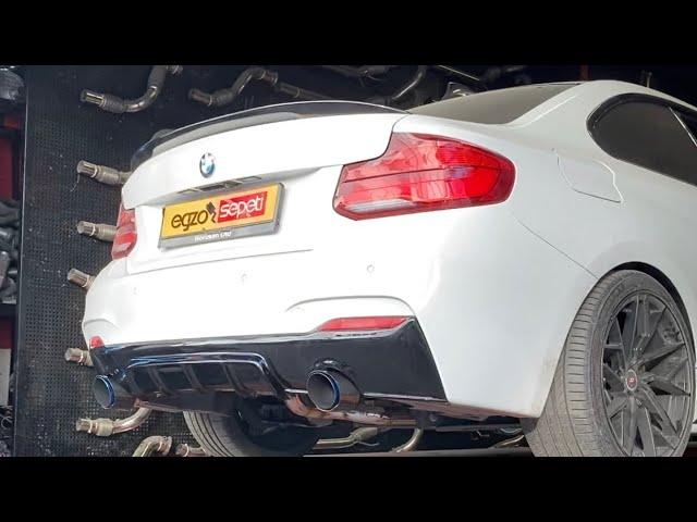 BMW F21 2.18 KUMANDALI EGZOZ SESİ