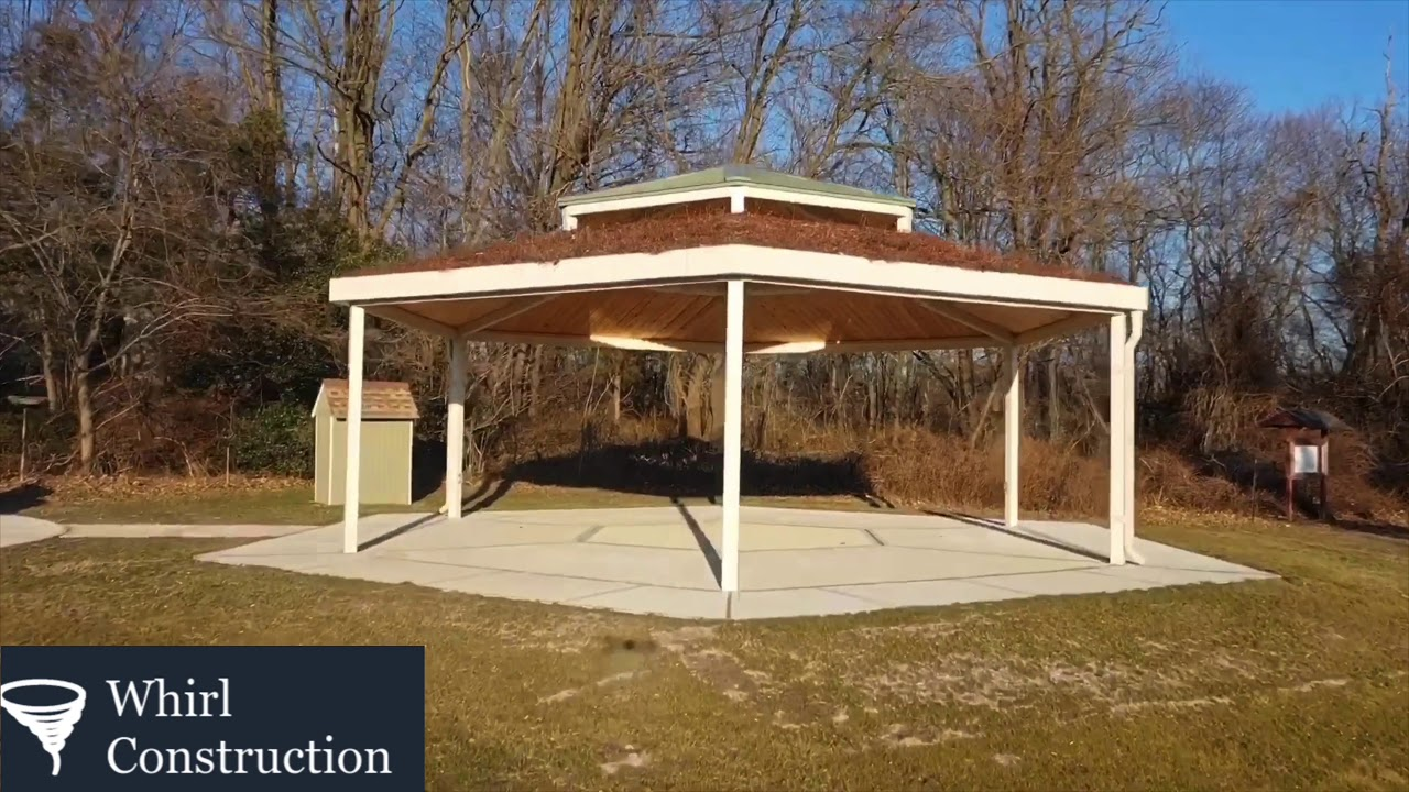 Check Out This All Natural Gazebo!