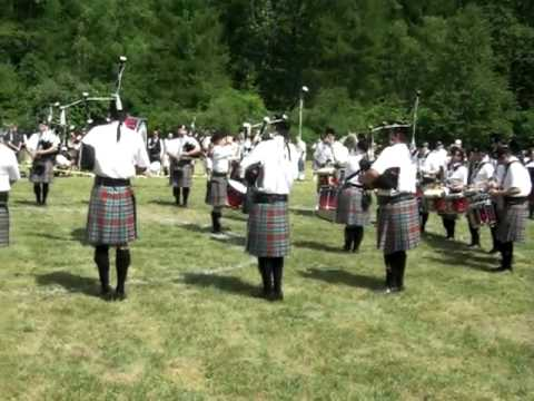 New York Metro Pipe Band, Rockland County Feis, 2010