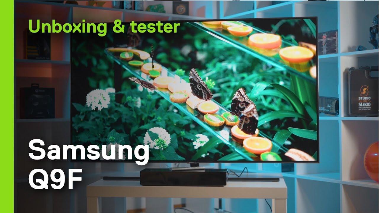 Samsung Q9F - High end TV som passar alla