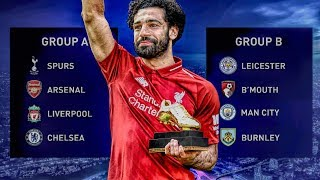 Premier League ONLY In The Champions League!
