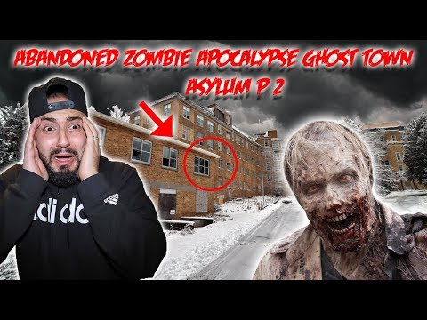 HAUNTED ABANDONED ZOMBIE APOCALYPSE GHOST TOWN part 2 *WHAT WE FOUND INSIDE COULD HAVE KILLED ME*