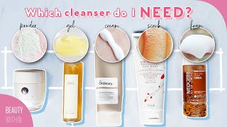 Which Cleansers work BEST? Gel, Cleansing Balms, Oils, Enzyme Powders & More!