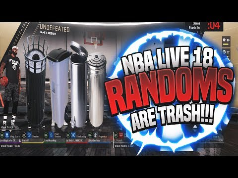 NBA LIVE 18 - Why Are Randoms Players So Trash In This Game?! (PS4 Gameplay)
