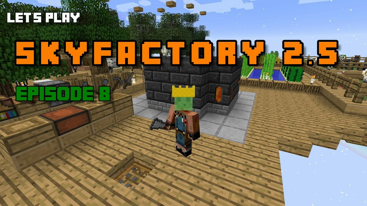 how to add skyfactory 2.5