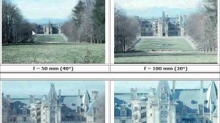 The Biltmore House and Angle of View
