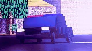 Minecraft  Animation - police chase