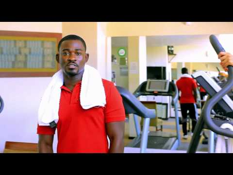 Gym at the African Regent Hotel Accra