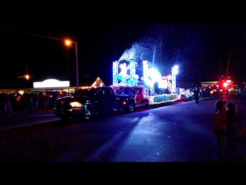 New Life Tabernacle Sand Springs Christmas Parade float