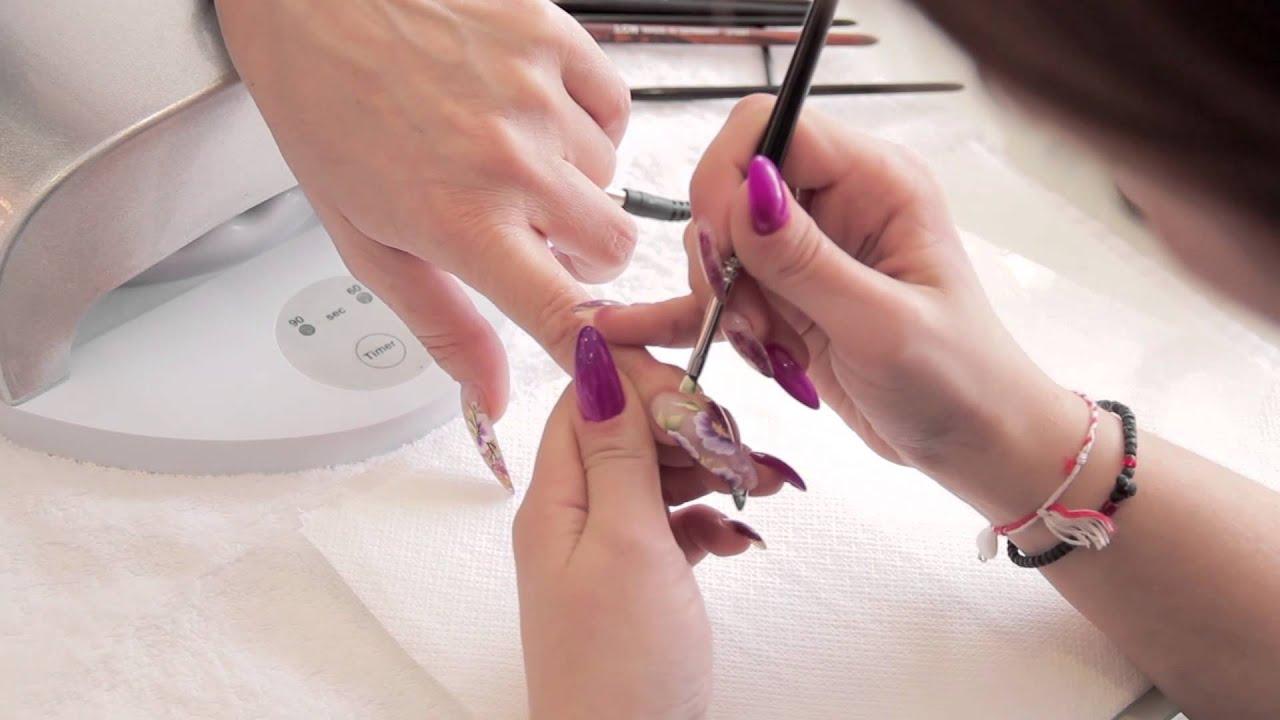 Nail Art By Lcn Greece Youtube