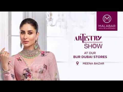 Malabar Gold & Diamonds Artistry Branded Jewellery Show At Bur Dubai Stores, Dubai