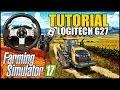 Tutorial Configurando Volante Logitech G27 no PC   Farming Simulator 17