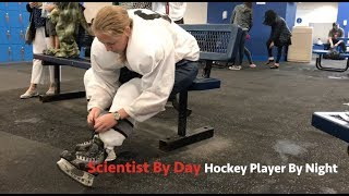 Scientist By Day, Hockey Player By Night: Taylor Johnson