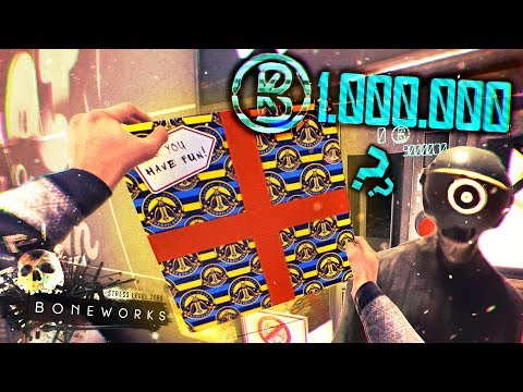 WHAT'S INSIDE THE $1 MILLION BOX?   Boneworks Pt. 2 [Oculus VR] Hacking
