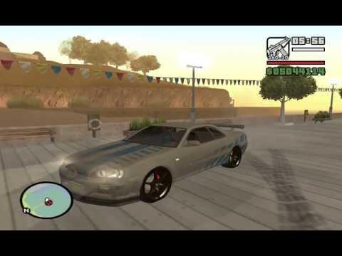 Gta San Andreas Car Mod Fast Furious Nissan Skyline Sound Link Download