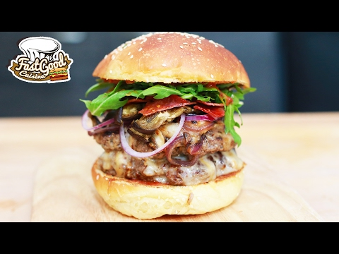 Je crée un Burger énorme pour FlorianOnair !