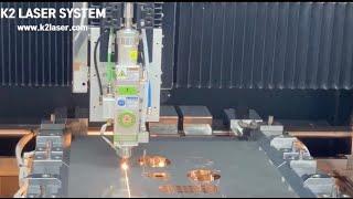 [케이투레이저시스템] K2CM S1 파이버 레이저커팅기