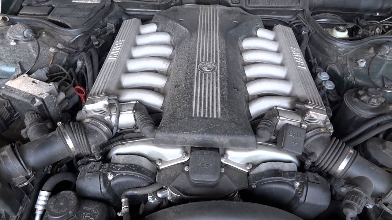 Engine for a 1998 BMW 750IL with only 61k miles  YouTube