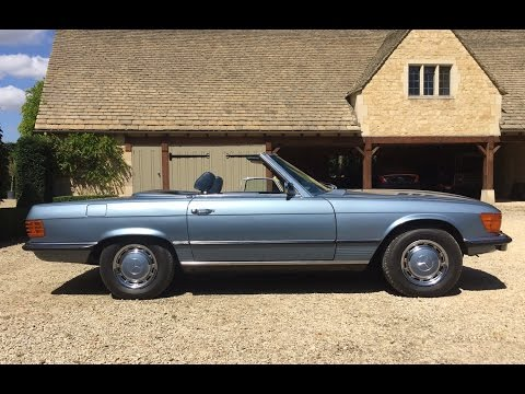 Mercedes 350 SL classic real world review, R107