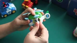 Відгук про іграшки з мультфільму Полі Робокар і роботі ПП Дегтярьова