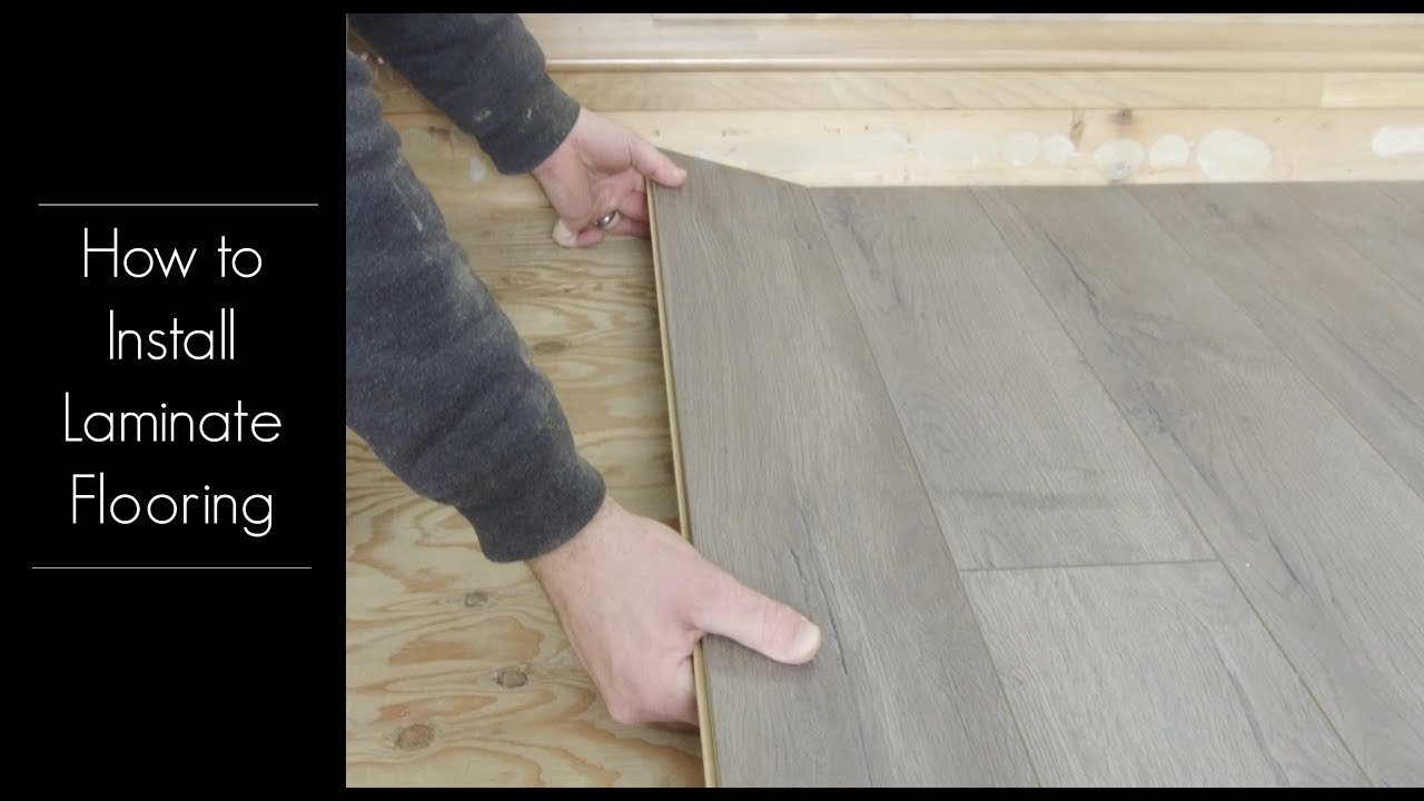 How To Install Golden Select Laminate Flooring Youtube