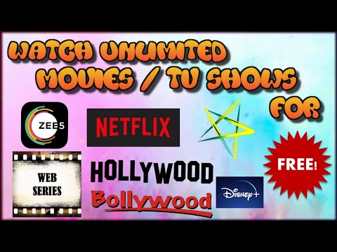 Watch Zee5 | Netflix | Hotstar | Hollywood, Bollywood MOVIES | Web Series | Shows For FREE | Full HD