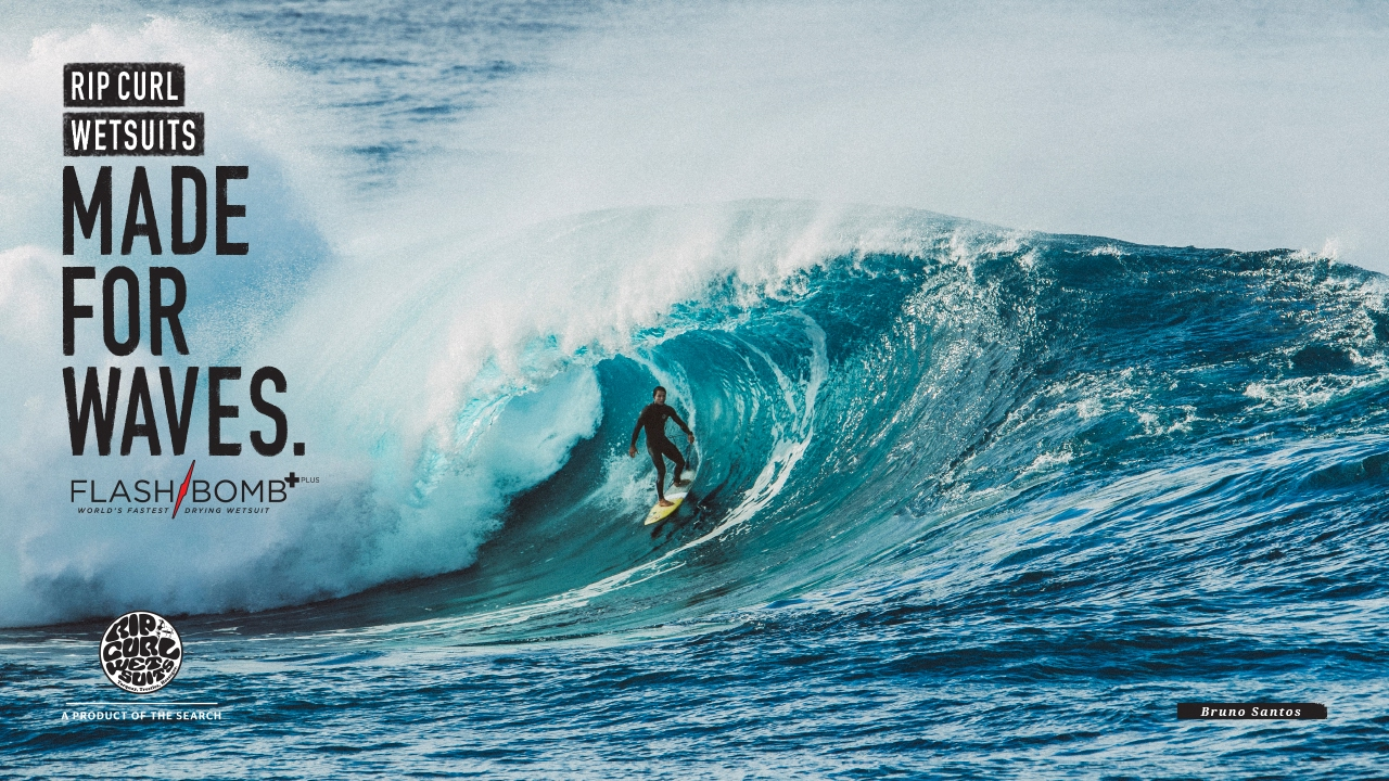 Download Bruno Santos   Made For Waves   Wetsuits by Rip Curl