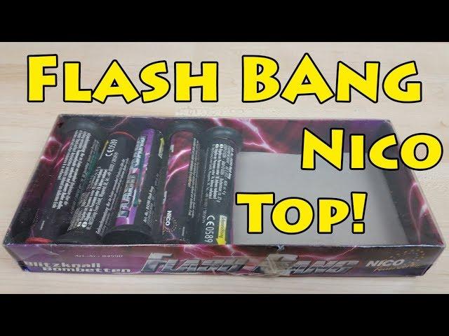 Nico | Flash Bang | Salut Bombenrohre | Lautestes Bombenrohr Deutschlands? | Go4Pyro