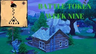 FORTNITE semaine neuf bataille passer jeton