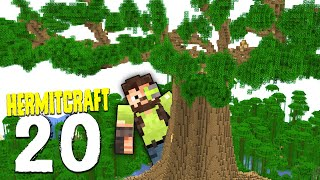 HermitCraft 7: 20 | TREE CANOPY MEGA PROGRESS