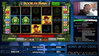 Big Bet!! Mega Big Win From Book Of Maya!!