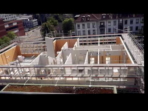 Timelapse video - construction site Institute of Medical Microbiology - University of Zurich