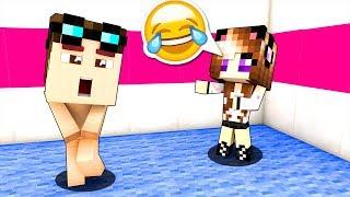 SONO ANDATO A SCUOLA NUDO! - Scuola di Minecraft #16