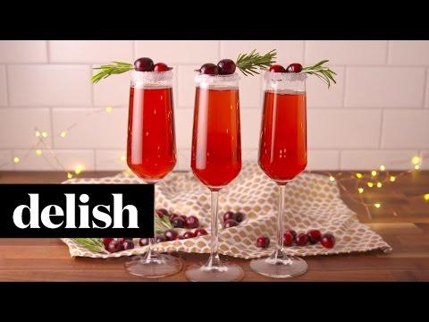 Cranberry-Mimosas-Delish