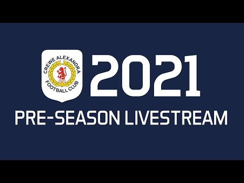 Youth Squad Legends - Crewe Alexandra (Pre-Season 2021)