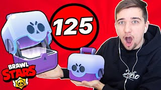 BIGGEST BIG BOX OPENING IN THE WORLD!! 🤩 125x Big Box | Brawl Stars