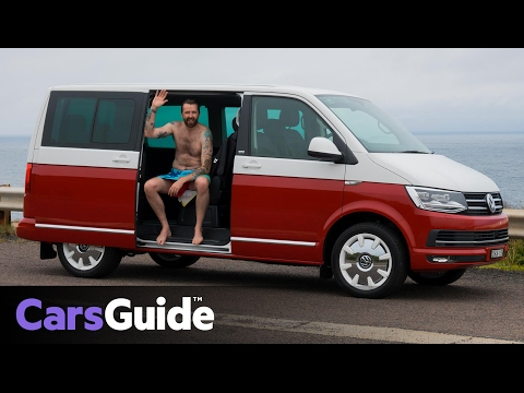Volkswagen Multivan Generation Six 2017 review | road test video