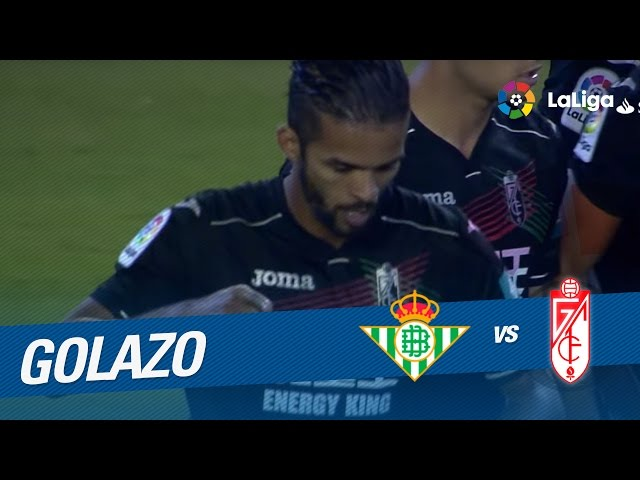 Golazo de Carcela (0-1) Real Betis vs Granada CF