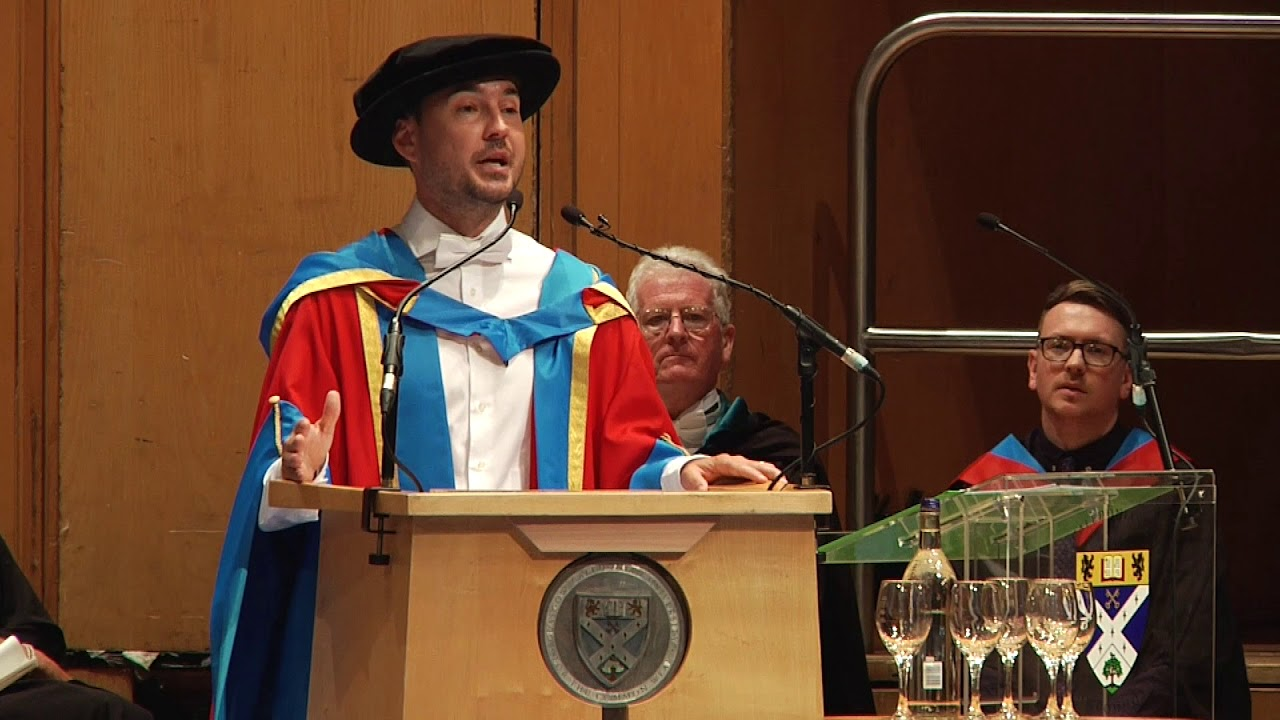 Dr Martin Compston, Honorary Degree of Doctor of Letters