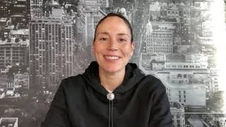 Sue Bird Accepts Voice Of Social Justice Award For Seattle Storm