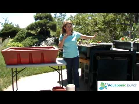 How to Select your Aquaponics Grow Bed