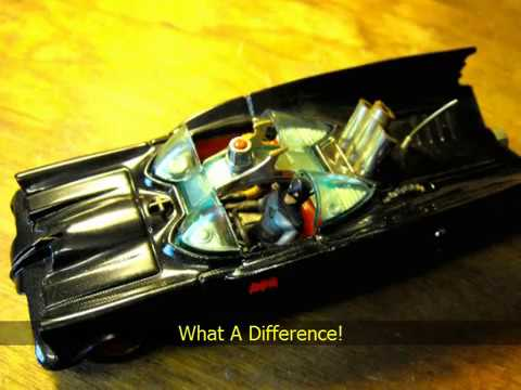 Corgi Batmobile Restoration