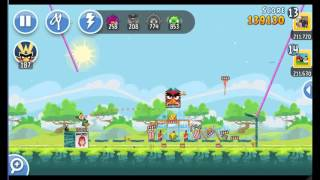 Angry Birds Friends The Movie Hype Tournament ● LEVEL 2 ● 234 K HD ● Week 203 ●  POWER UP