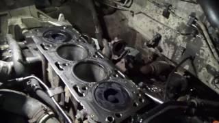 Задиры және соққанда қозғалтқышта Hyundai Santa Fe жаңа ГБЦ Ч. 1