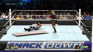 WWE 2K15 PS4 GAMEPLAY, 2015 LATEST FIGHTS …!!