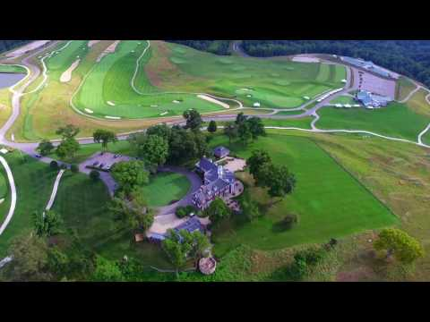 Pete Dye Golf Course, French Lick, Indiana