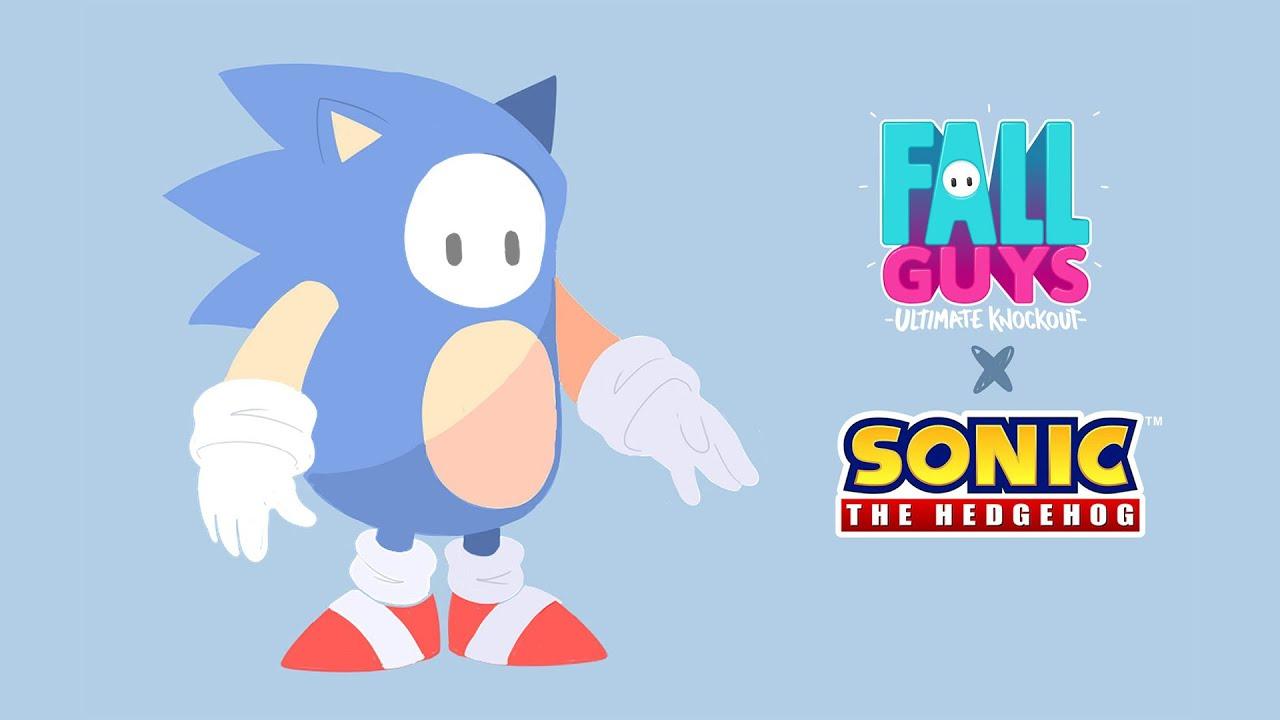 Pierwszy rzut oka na Sonica w Fall Guys