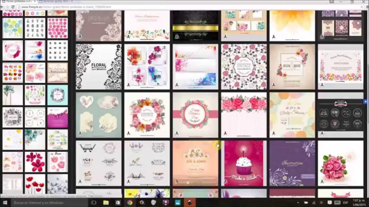 Tutorial Como Descargar E Imprimir Tu Propio Papel Decorativo Para Scrapbooking Gratis