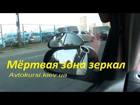 Мёртвая зона зеркал автомобиля, Слепая Зона Зеркал Машины